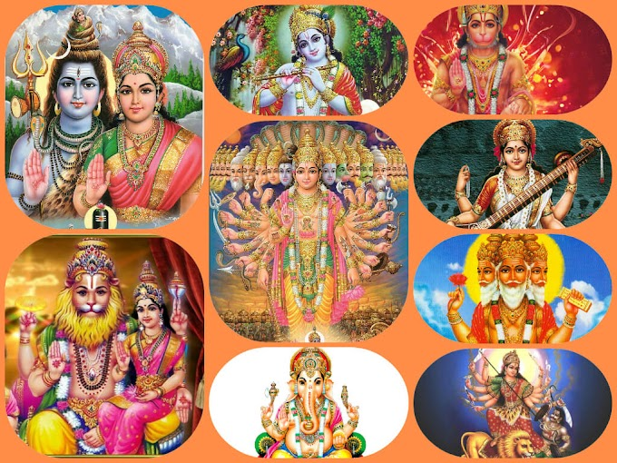 What is the concept of many gods in hinduism?