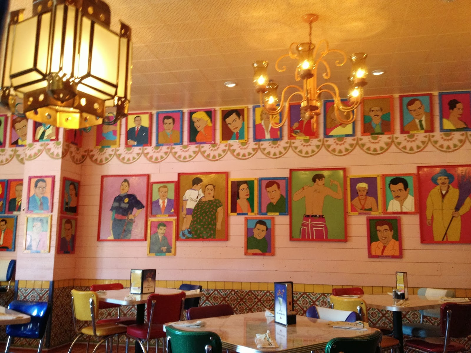 Inside Chuy S Mexican Food Restaurant