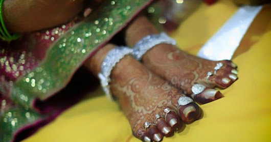 Significance of Toe Ring in Wedding | Mukta Event Managers | Event Managers in Hyderabad | Wedding Planners in Hyderabad