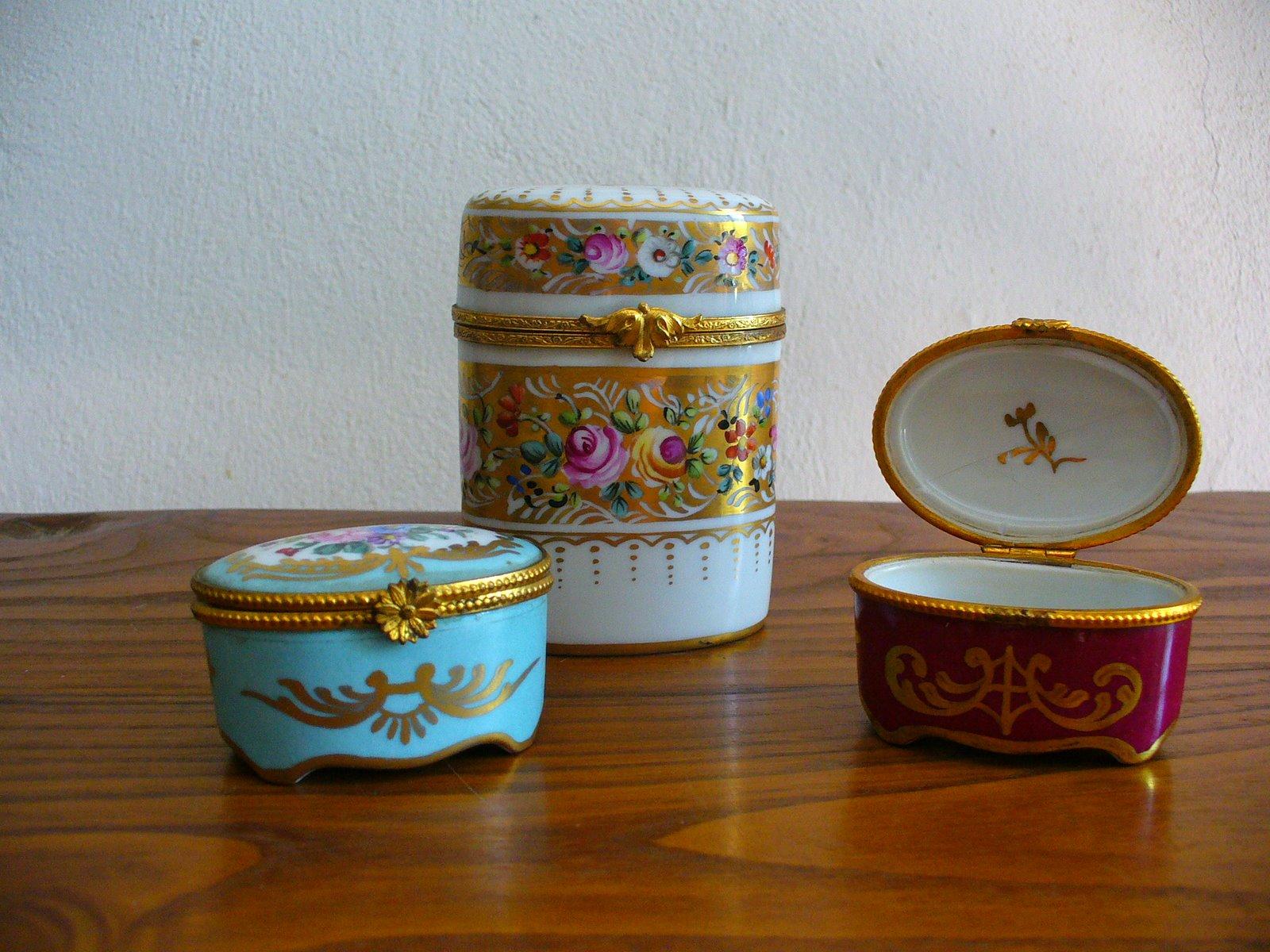 Marchi di porcellana di Limoges datati