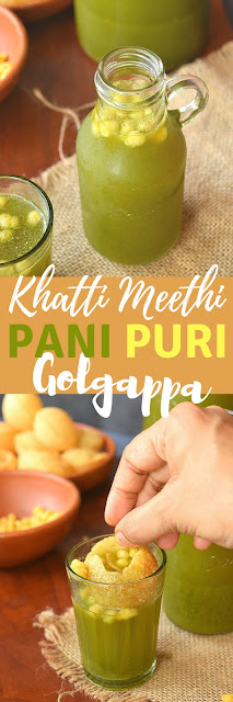 Khatta Meetha Pani for Golgappa
