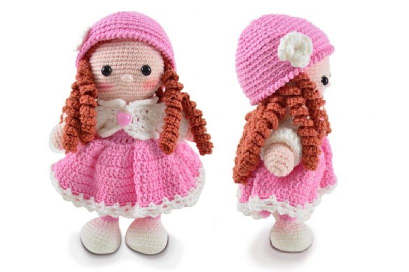 Amigurumi Boneca Lol +de 10 Modelos e Ideias | Bonecas, Bonecos de ... | 544x817