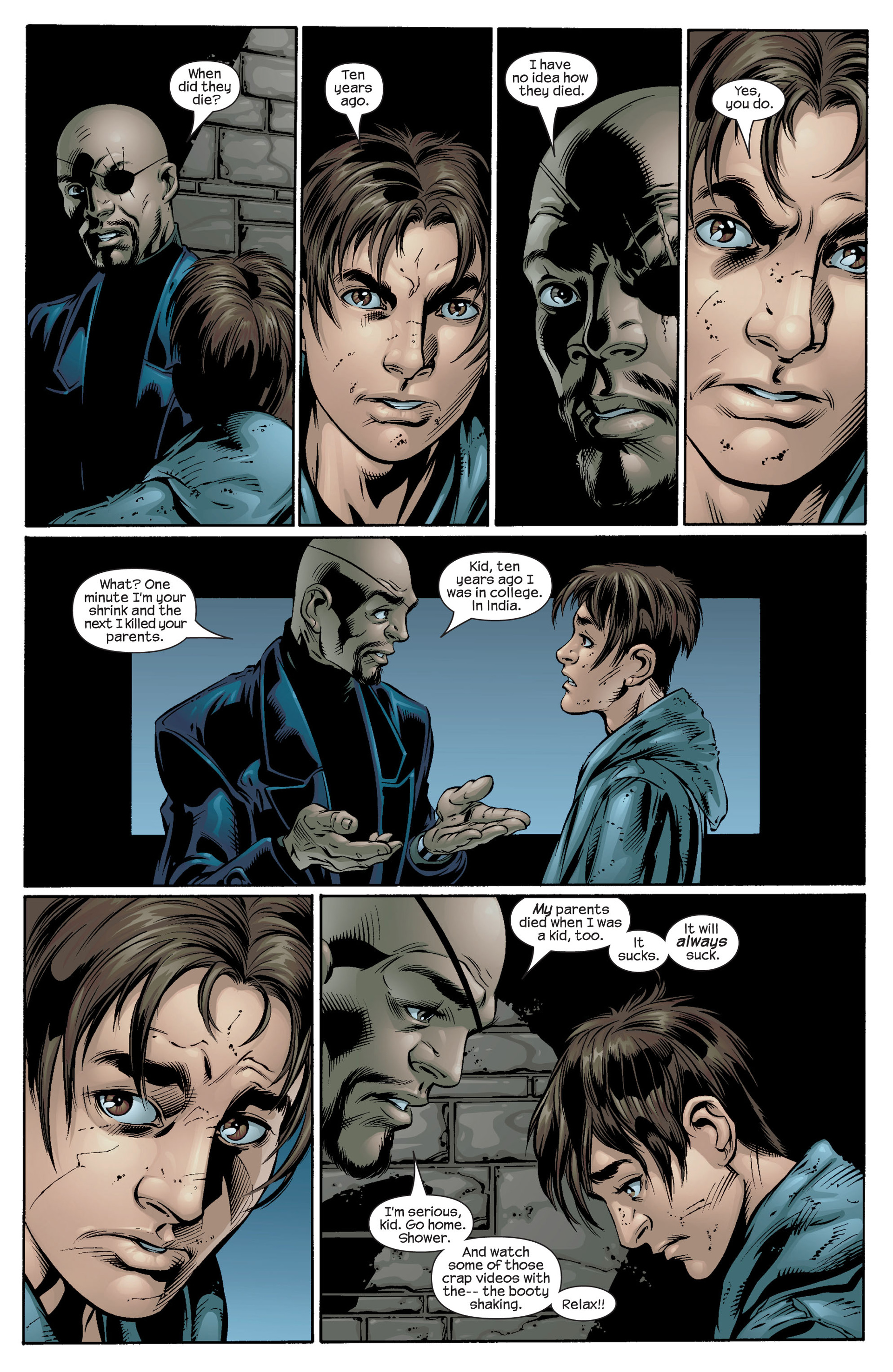 Read online Ultimate Spider-Man (2000) comic -  Issue #39 - 11