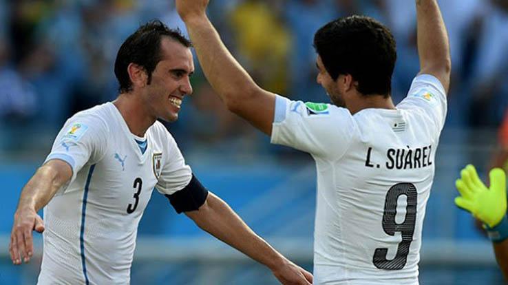 Luis Suárez, Cavani y Godín se oponen al contrato de Uruguay con Puma