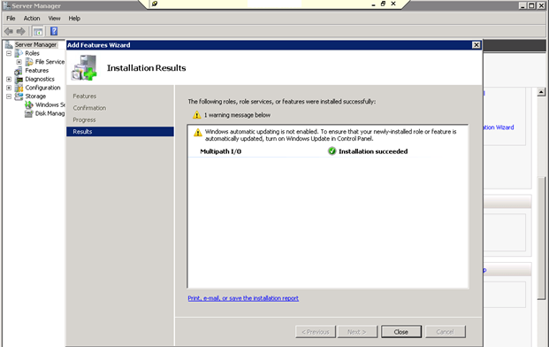 configuring 3PAR Multipathing in Windows |Admin Helpline