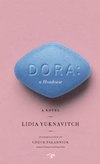 Book title is on rhombus shaped and colored like Viagra