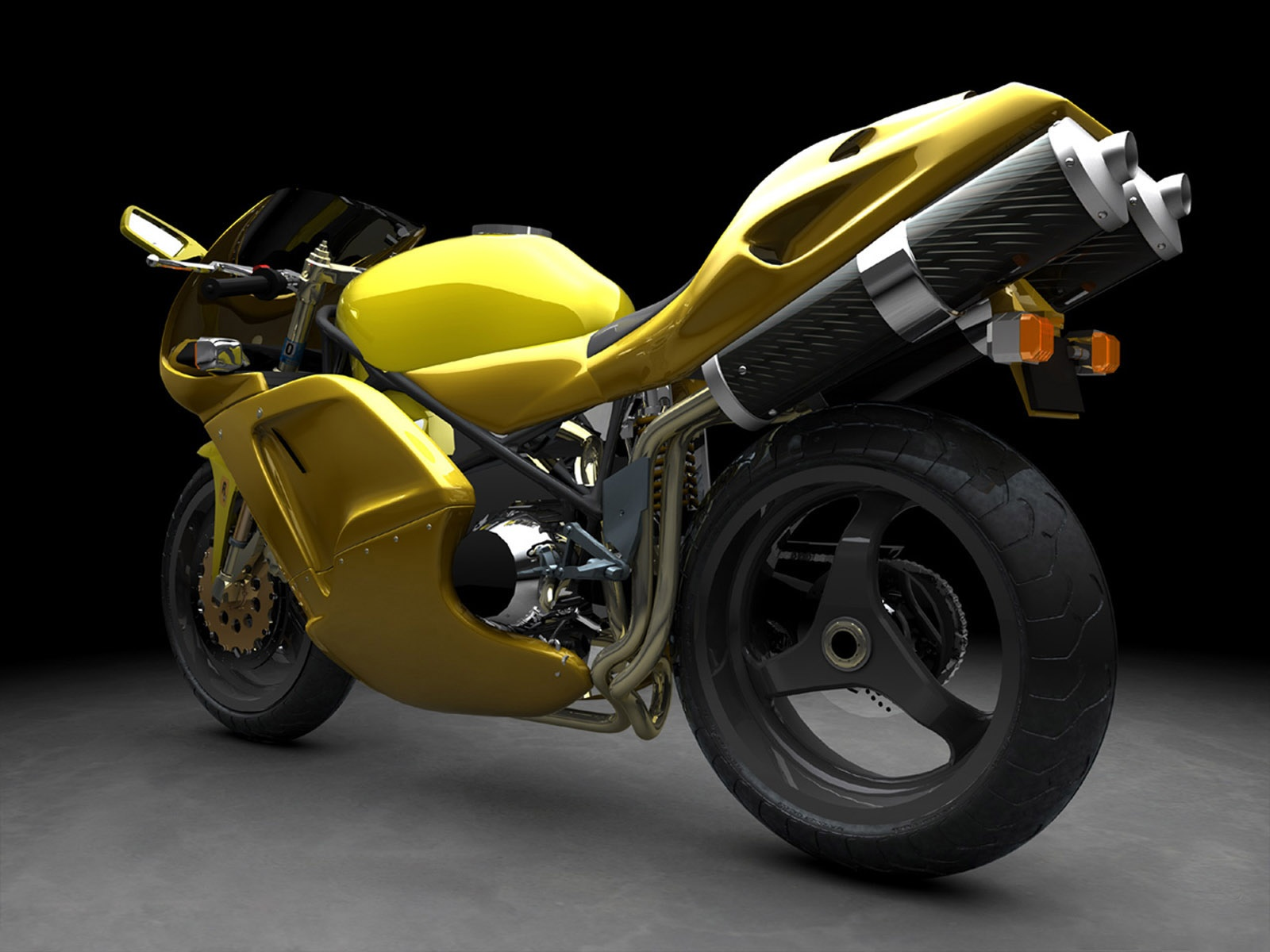 Yellow sports bike cars wallpapers - Best wallpapers of cars and bikes ...