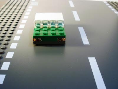 MOC LEGO Micro Carro Verde