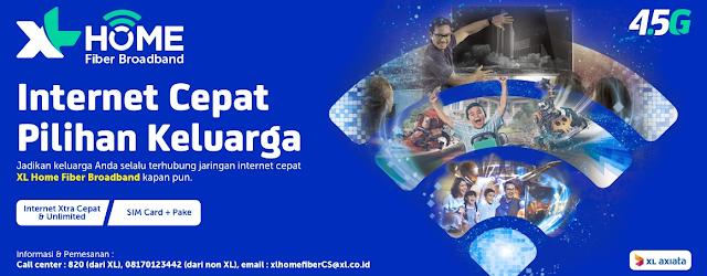 XL Sediakan Layanan Internet Home Fiber Broadband, Ini Daftar Harga Paketnya !