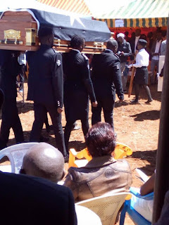 Photos: Kenyan female student who was butchered by brother laid to rest