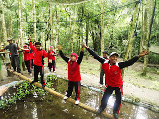 Outbound di Wulubung Kaliurang