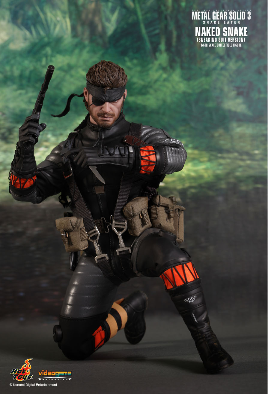GG FIGURE NEWS: HOT TOYS: Metal Gear Solid 3 Snake Eater