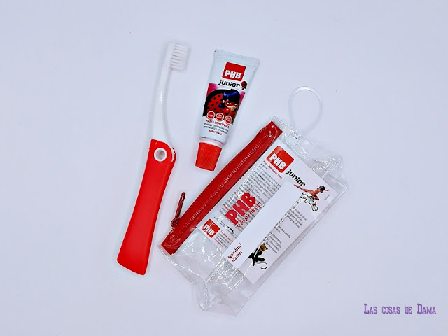 PHB Junior LADYBUG cuidado bucodental dientes farmacia niños