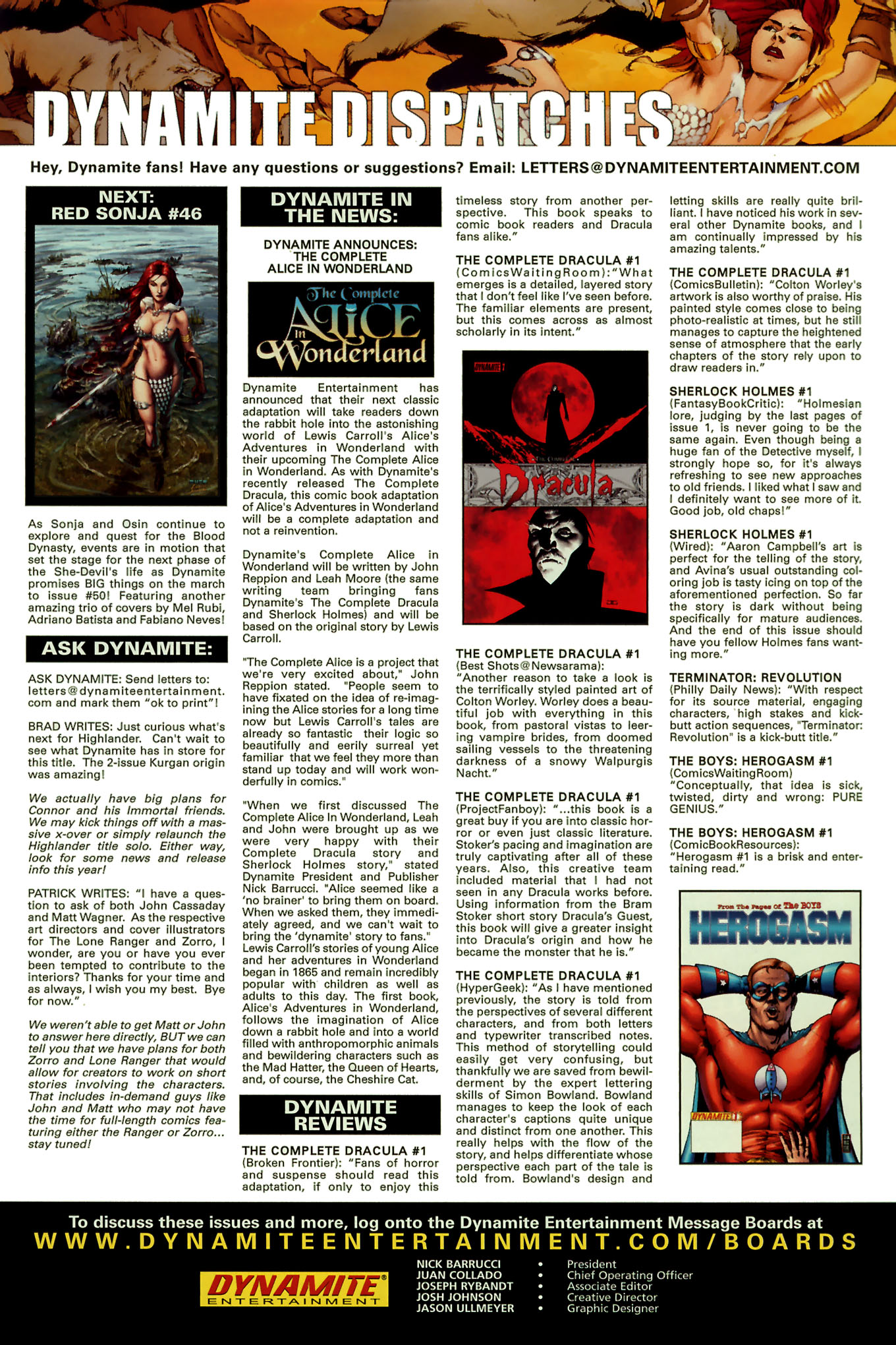 Read online Red Sonja (2005) comic -  Issue #45 - 28