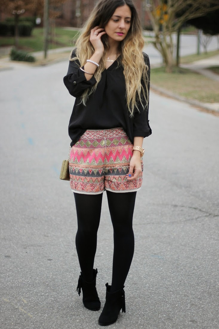 Dressy Outfit with Shorts