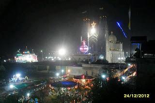 Không khí Noel 2012 trên xứ đạo Kiên Lao