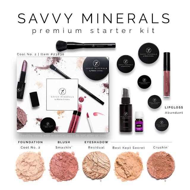 Savvy Mineral Makeup Premium Starter Kit: Cool 2