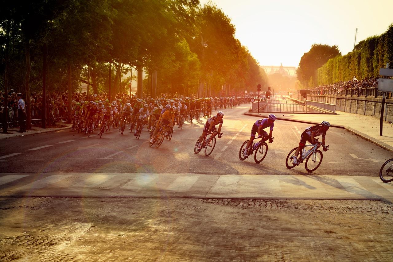 Słówka związane z Tour de France