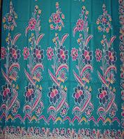 Kain Batik Cibulan 100 Toska