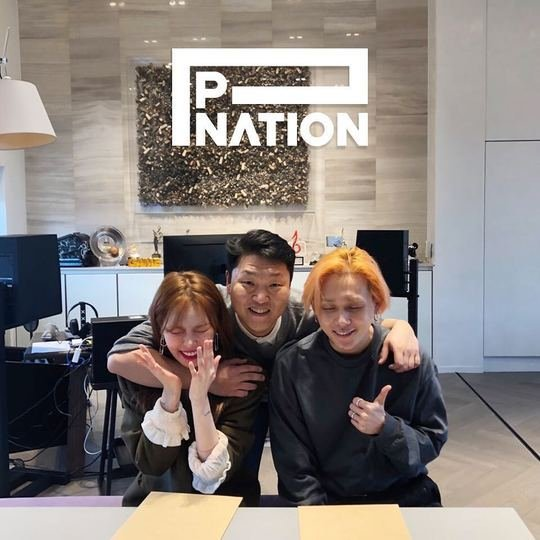 Image result for psy p nation
