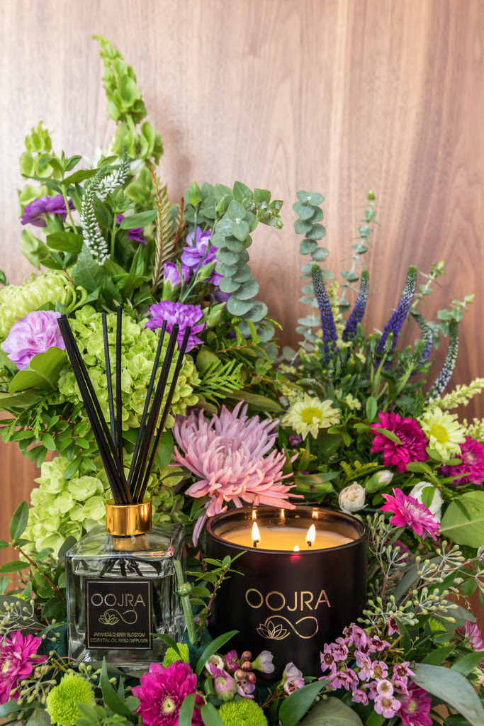 Oojra essential oil reed diffusers and soy candles #ad #aromatherapy