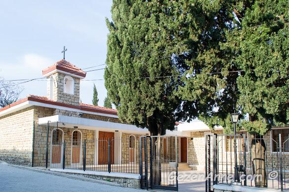 Türkiye'deki tek Ermeni köyü olan Vakıflı Köyü'ndeki Surp Asdvadzadzin (Aziz Meryem Ana) kilisesi, Samandağ Hatay