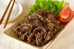 Resep Beef Yakiniku Yoshinoya