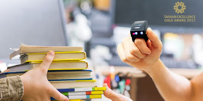Wireless Ring Barcode Scanner Ring