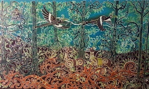 Batik Lukis Borneo Jungle