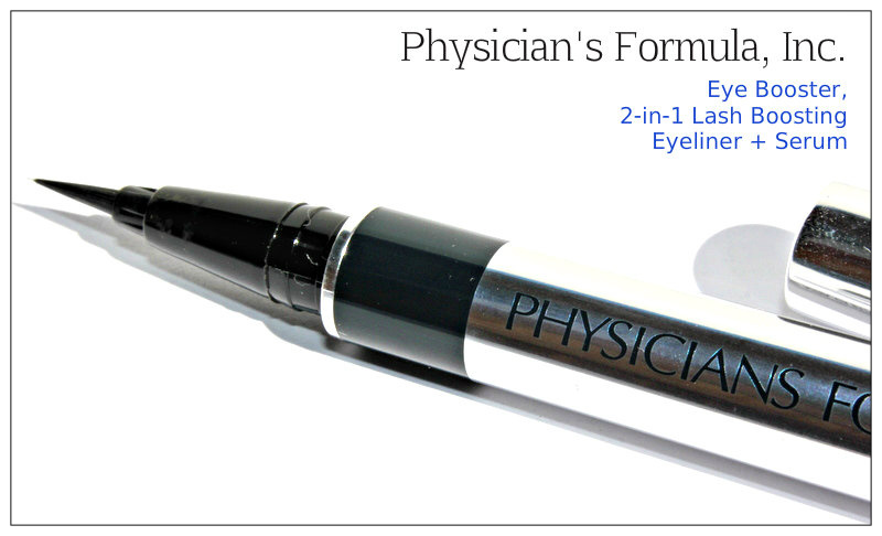 Review: Physician's Formula, Inc., Eye Booster, 2-in-1 Lash Boosting Eyeliner + Serum, Ultra Black