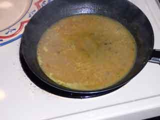 Poulet de Moutarde sauce