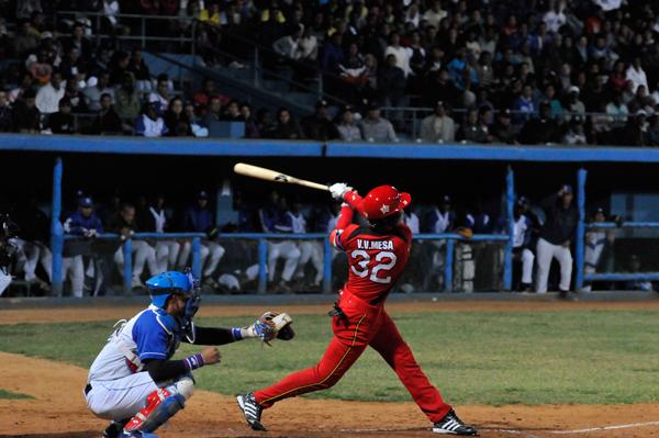 La selección fue efectuada hoy en el salón Adolfo Luque del estadio Latinoamericano, en la capital cubana