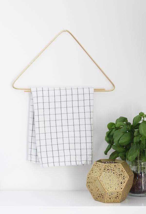 Hogar diez 4 diy colgadores de toallas for Colgadores para toallas