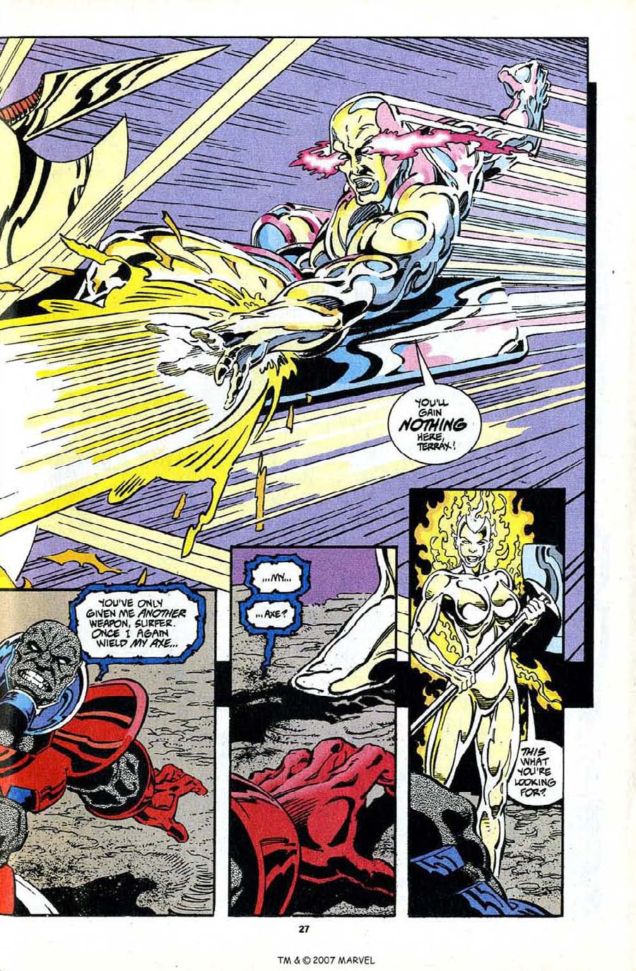 Read online Silver Surfer (1987) comic -  Issue #97 - 29