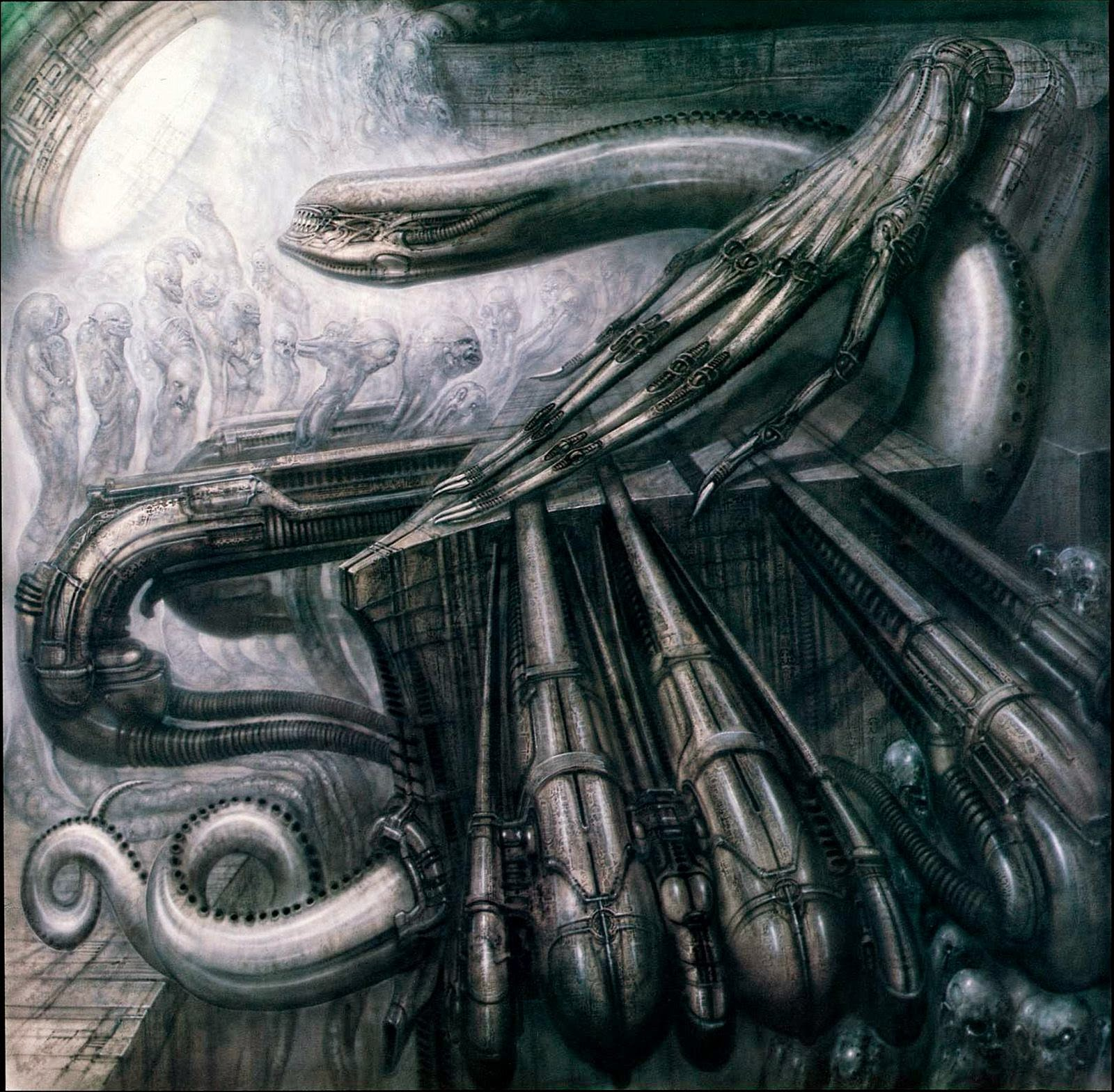Giger's Alien Monster III, 1978