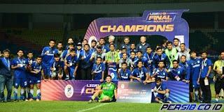 Persib U-19 Gagal Juara Liga 1