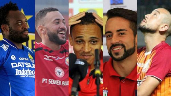 Pengen Tahu? Inilah Daftar Sementara Pemain Asing Liga 1 Indonesia Musim 2017