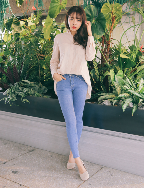 Skinny Ankle Cut Jeans
