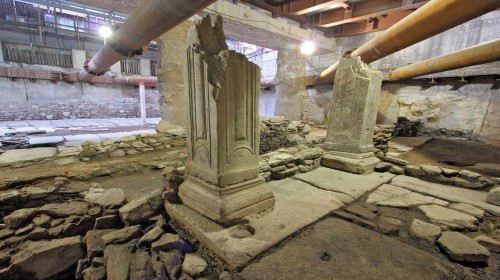 Μετρό Θεσσαλονίκης: συνεχίζονται οι εργασίες και συγκροτήθηκε Ομάδα Εργασίας για την ανάδειξη των αρχαιοτήτων του.