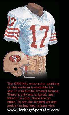 San Francisco 49ers 1981 uniform