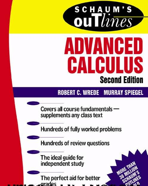 technicalpdf schuam 39 s outline of advanced calculus 2nd ed by r wriede s spiegel free. Black Bedroom Furniture Sets. Home Design Ideas
