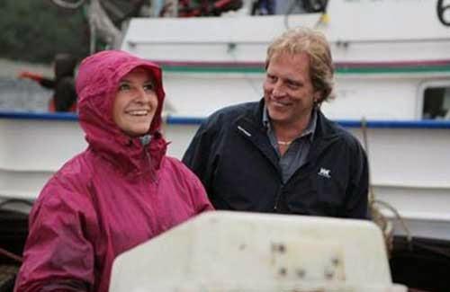 Interview Kyle McMahon Captain Sig and Mandy Hansen aboard Northwestern. Deadliest Catch