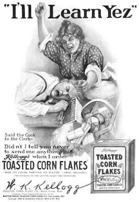 I'll learn Yez - Kelloggs Toasted Corn Flakes