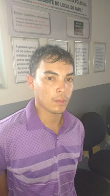 POLICIA MILITAR PRENDE ACUSADO DE ROUBOS NA REGIÃO DE SOLÂNEA