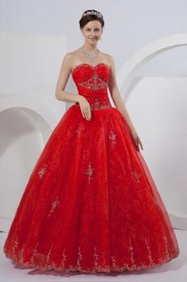 Robes de mariée rouges modernes et sublimes 1faaabf40136