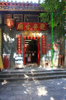 Guanyin Temple in Tin Hau Temple, Yau Ma Tei, Kowloon, Hong Kong