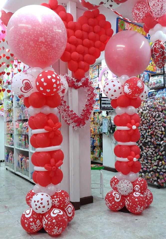 Fiestas y detalles decoracion corazones for Decoracion de supermercados