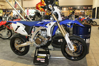 Yamaha Wr450 Supermoto For Sale