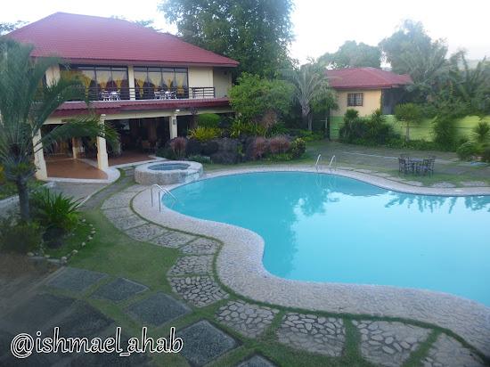 Swimming pool of Punta de Fabian in Baras, Rizal