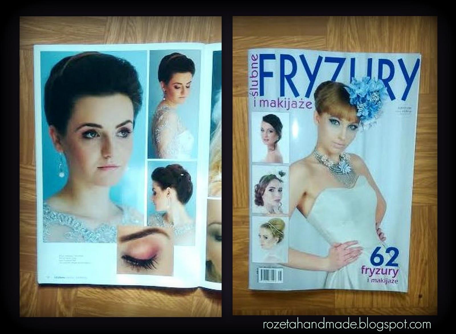 Publikacja W Magazynie ślubne Fryzury I Makijaże A W Nim